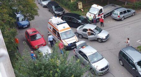 Ce spune Poliția despre accidentul de pe strada Sfânta Vineri din Zalău