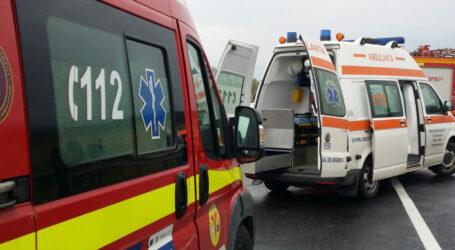 ULTIMA ORĂ! Accident GRAV, cu 3 victime, la ieșirea din Zalău spre Panic. Traficul este OPRIT