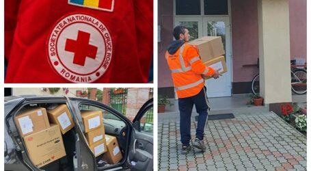 Crucea Roșie Sălaj a donat peste 1,6 milioane de măști de protecție