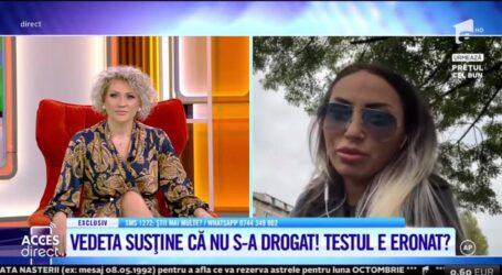 """VIDEO. Andreea Pirui vrea să dea în judecată Poliția Rutieră Zalău, după ce două polițiste au constatat că era drogată la volan: """"este o înscenare; fetelor, nu fumez, nu am fumat în viața mea"""""""