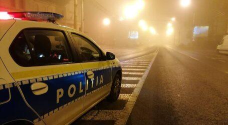 Un adolescent drogat, prins de polițiști în timp ce conducea pe o stradă din Zalău