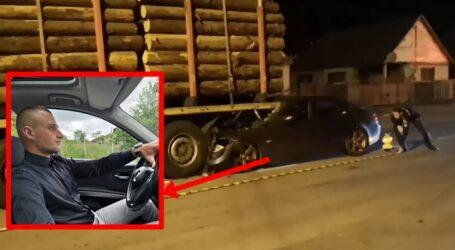 VIDEO. Un tânăr din Sălaj a murit într-un grav accident în Dej: a intrat sub un TIR oprit la semafor
