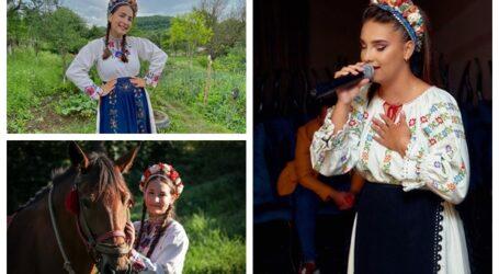 Povestea unei tinere cu voce de aur din Sălaj – are numeroase premii și se mândrește cu tradițiile locale din județ