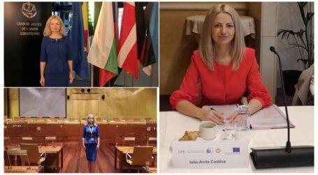 Tânăra avocată din Zalău, Iulia Costina a reprezentat România la o importantă conferință în Luxemburg
