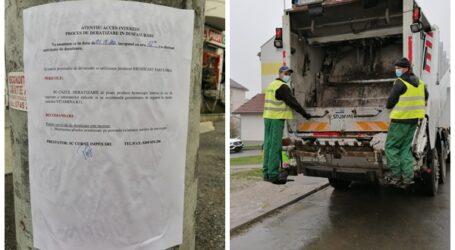 Brantner anunță deratizare la punctele de colectare a deșeurilor din Zalău