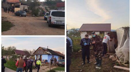 FOTO. Poliția a DESCINS în Păușa, la hoții care terorizează sătenii