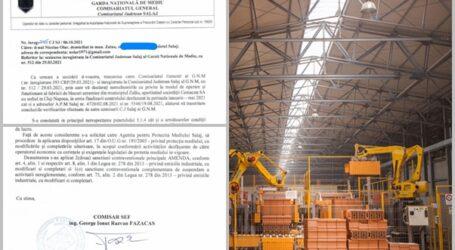 FOTO DOCUMENT. Fabrica CEMACON Zalău, amendată de Garda de Mediu. Autoritățile au descoperit probleme de mediu – poluare severă a aerului