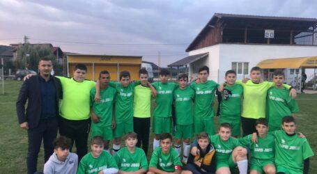 Rapid Jibou are performanțe și la grupa de juniori pregătită de tânărul Puiu Unguraș