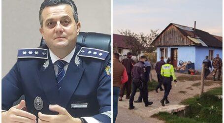 JOS PĂLĂRIA pentru Marius Stupar, inspectorul șef al Poliției Sălaj. Cum a acționat comisarul într-o situație de criză
